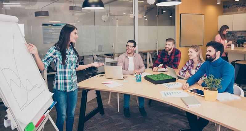 Auch wenn eine Unternehmenspräsentation immer an die aktuellen Gegebenheiten angepasst werden muss bzw. an die Gründe, warum Sie sich überhaupt vorstellen müssen, so gleich sich der Aufbau doch immer. (#01)