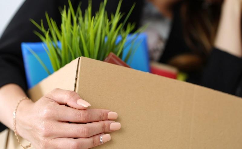 Kündigungsschreiben: Entfernen Sie als Vorbereitung alle persönlichen Gegenstände vom Arbeitsplatz (#02)