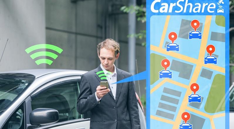 In den USA gibt es mittlerweile ein neues Modell des Carsharings, welches per App funktioniert. (#04)