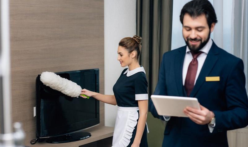 Auch als Hotel Administrator sind Fremdsprachen koennen notwendig.