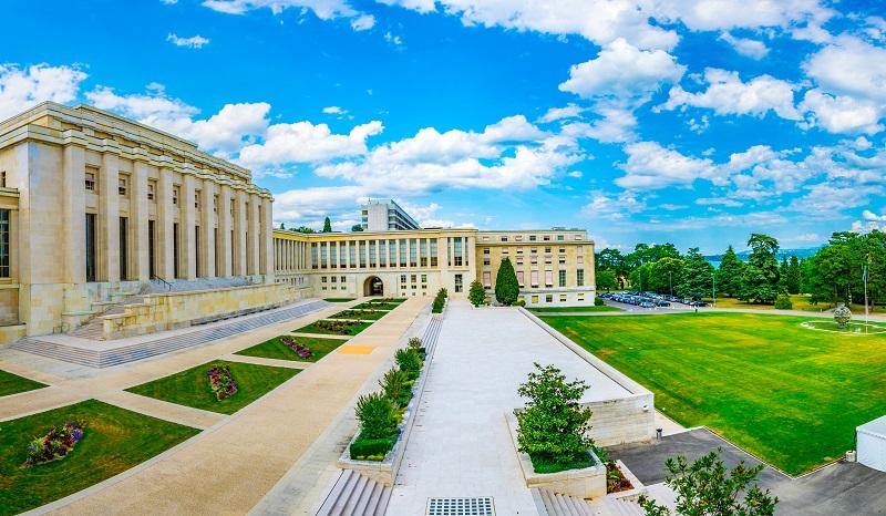 Berufe, bei denen man reisen muss: Das Palais des Nations - Sitz der Amerikanischen Botschaft in der Schweiz (#03)