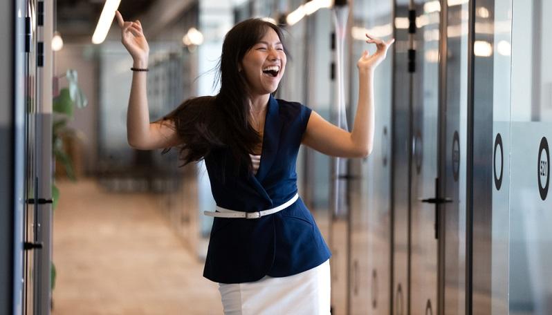Der Wunschberuf umfasst Tätigkeiten, die dem Bewerber Spaß machen. ( Foto: Shutterstock-fizkes)